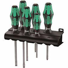 Wera 334/6 Kraftform Plus Lasertip Screwdriver Set 05105650001