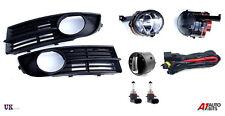 VW Touran 2003-2006 Fog Lights luci Griglia Kit Set + CABLAGGIO & Interruttore per Fari