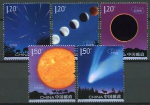 China Space Stamps 2020 MNH Astronomy Planets Sun 5v Set