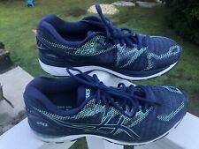 ASICS Gel-Nimbus 20 Shoes Blue Athletic Running Sneakers (T851N) Women Size 11.5