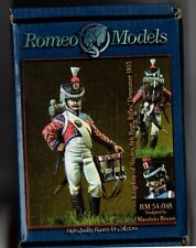 ROMEO MODELS RM54048 - KINGDOM OF NAPLES 6th Rgt RIFLES DRUMMER - 54mm METAL