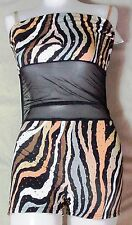 NWT Pumpers Black & Sequins Unitard Costume   Child large