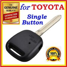 Toyota Remote Key shell Estima Camry Corolla Yaris Prado RAV4 Echo One Button