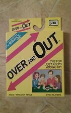 OVER & OUT Card Game - The Fun Just Keeps Adding Up! by JAX Games~ Free Shipping