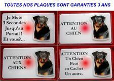 Plaque Panneau Pancarte chien beauceron 7 - Dim 12.5 x 0.75 cm