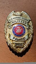 US Marine Corps USMC Military Police Badge VINTAGE,  1990-1994