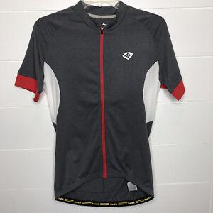 Santic Mens Cycling Jersey Short Sleeve Full Zip NWT Pockets Outdoor Sports Lg