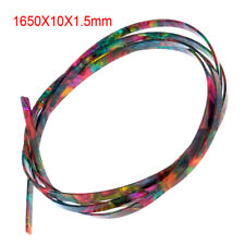 Colorful Celluloid Guitar Binding Body Project Purfling Strip 1650 x 10x 1.5mm