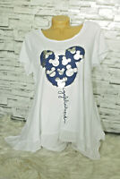 Italy New Collection T-Shirt weiß Vintage Mickey Mouse Gr.36 38 40 42 blogger