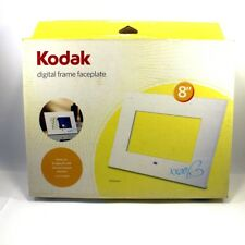 Kodak Digital Easyshare Picture Faceplate REPLACEMENT WHITE SV811 EX811 8 inch