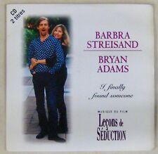 Leçons de séduction CD's Barbra Steisand Brian Adams 1996