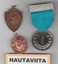 Scottish AHDA Alberta Highland Dance Medals Edmonton Bronze Silver 1950-60s SDTA