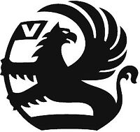 "XLARGE 23X23"" Vauxhall car bonnet side sticker logo vinyl decals graphics"