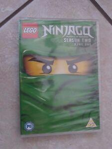 'Lego Ninjago: Masters of Spinjitzu' Season 2 Part 1 New/Sealed DVD