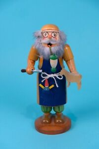 Seiffener Ulbricht Woodcarver Pipe Toymaker German Christmas Nutcracker 10 Inch