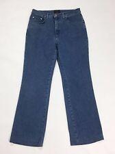Trussardi jeans mod.130 w34 tg 48 gamba dritta slim usato blu donna denim T2181