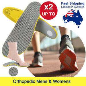 Orthotic Shoe Insoles Arch Support Pain Relief Orthopedic Inner Sole Mens/Womens