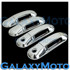 03-05 Lincoln Aviator Triple Chrome 4 Door Handle WITH Passenger Keyhole Cover