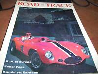 Road & Track Magazine Dec 1956 GP of Europe