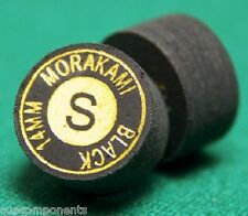 SOFT Morakami Cue Tips Performance Black Pool Cue Tip -- Per 1 & FREE SHIPPING