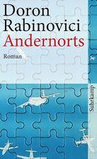 Andernorts von Doron Rabinovici (2012, Taschenbuch)