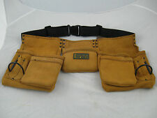 Carpenter's Rig Tanned Leather Tool Belt
