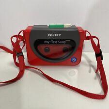 Vintage Sony Wm-3000 My First Walkman Cassette Player • Needs New Belt
