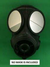 7 in 1 S10 Respirator Gas Mask Outserts Safety Lenses for Airsoft