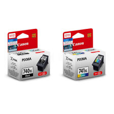 Canon PG-740XL and CL-741XL Ink Cartridges (for MG4270/MX537) (2pcs) - Assorted