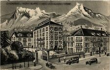 CPA Chamonix -Mont-Blanc -Hotel Croix Blanche-Simond (248270)