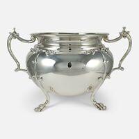 Sterling Silver Twin Handled Jardiniere Bowl Wakely & Wheeler 1905 44.48ozt