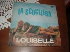 """LOUISELLE """" LA SCOGLIERA - PERDONAMI """"  UN DISCO PER L'ESTATE'68  ITALY'68"""