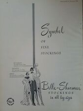 1948 Belle-Sharmeer symbol of fine stockings women's Hosiery vintage ad