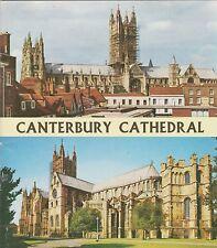 Canterbury Cathedral - Pitkin Pride of Britain Souvenir Booklet - 1971