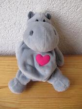 Nici Wende Tier Hippo Nilpferd Herz 22 cm Plüschtier Stofftier