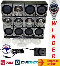 """""""BOXY"""" Brick Automatic Watch Winder System for 12 watches Model: 12E4 Brilliant!"""