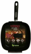 Mirro Get A Grip Pro 10 Inch Square Grill Pan - Dishwasher Safe - Grill Marks