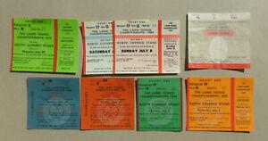 8 Tickets Wimbledon The Lawn Tennis Championships 1978 - 1994 B. Becker B. Borg