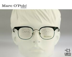 Marc O'Polo by Metzler 3343 517 Vintage 90s small square clubmaster eyeglasses