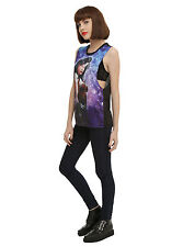 DC Comics Wonder Woman Sublimation Galaxy Muscle Tank Top Tee Shirt JR Large NWT