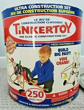 PLAYSKOOL TinkerToy: The Classic Construction ULTRA Set + INSTRUCTIONS