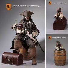 MR.Z 1/6 Scale Figure Collectible Model Pirate Monkey Wine Barrel Treasure Box