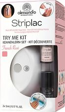 Alessandro Striplac TRY ME KIT FRENCH Rosé Starter Set/KIT (no 78-424) NUOVO! 2016