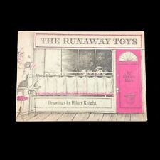 The Runaway Toys Evelyn Hart Drawings Hilary Knight Children's Unbound Book VTG
