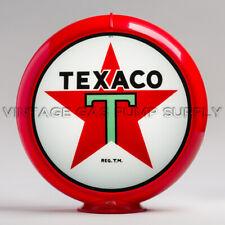 "Texaco Star 13.5"" Gas Pump Globe w/ Red Plastic Body (G192)"
