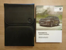 BMW X5 Owners Handbook/Manual and Wallet 13-17