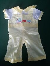 Cradle Togs Yellow Overalls Yellow Train