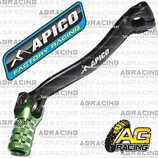 Apico schwarz grün gear pedal lever Schalthebel für Kawasaki KX 450f 2013 Motocross