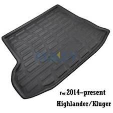 For Toyota Kluger Highlander 14-18 Rear Trunk Mat Cargo Boot Liner Floor Carpet