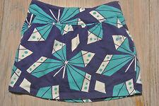 CRAZY 8 Girls BLUE & TEAL Knit Skirt Size M (7-8)  **EUC**